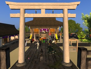 【Second Life】[DANGO第二夜]第7回SL 川柳575 in SENGOKU