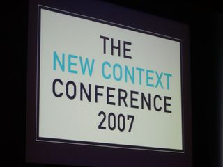 【NCC2007レポート】Webの未来を探る「THE NEW CONTEXT CONFERENCE 2007」開催