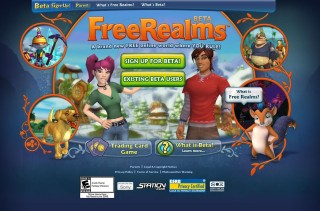 Sony Online Entertainment、仮想空間「Free Realms」のβテスターの募集を開始!